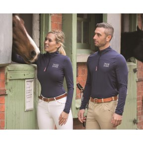 Shires Team unisex Stretch Top