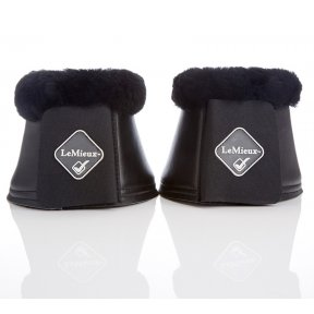 LeMieux Lambskin & Faux Leather Over Reach Boots
