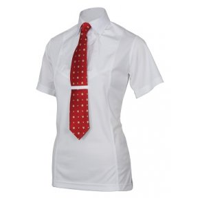 Shires Junior Short Sleeve Tie Shirt