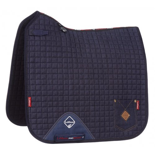 LeMieux ProSport Denim Dressage Square