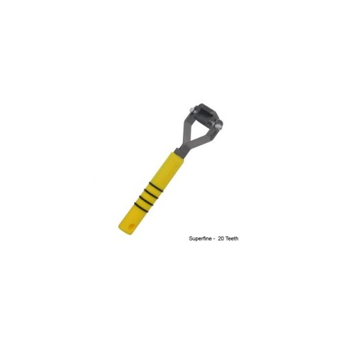 Smart Tails Yellow Handle Thinning Rake
