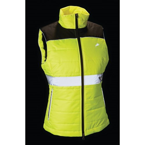 Harry Hall Hi Viz Quilted Gilet