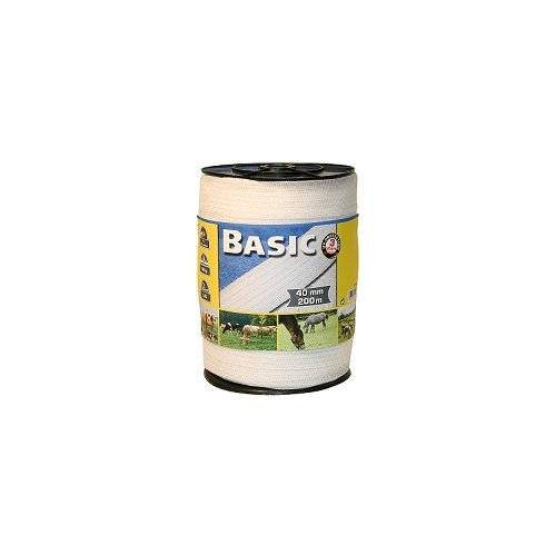 Corrall Basic Tape White 200mx40mm