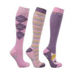 HyFashion Unicorn Socks Pack of 3
