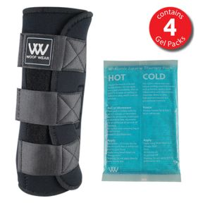 WoofWear Ice Therapy Boot with Gel Packs