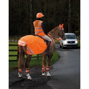 Bridleway Childrens High Visibility Safety Vest