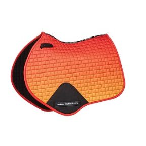 Weatherbeeta Ombre Jump Saddlepad Autumn Glow