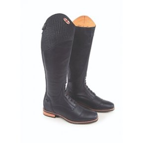 Moretta Gabriella Long Leather Riding Boot