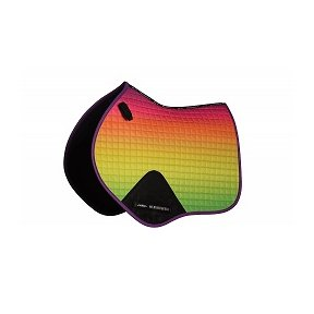 Weatherbeeta Ombre Jump Saddlepad Rainbow Dreams